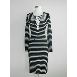 Bec and Bridge Striped Midi Dress